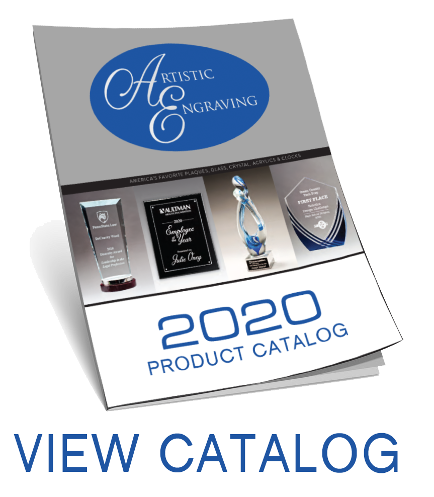 View our Product Catalog for Acrylic Glass Awards and Plaques